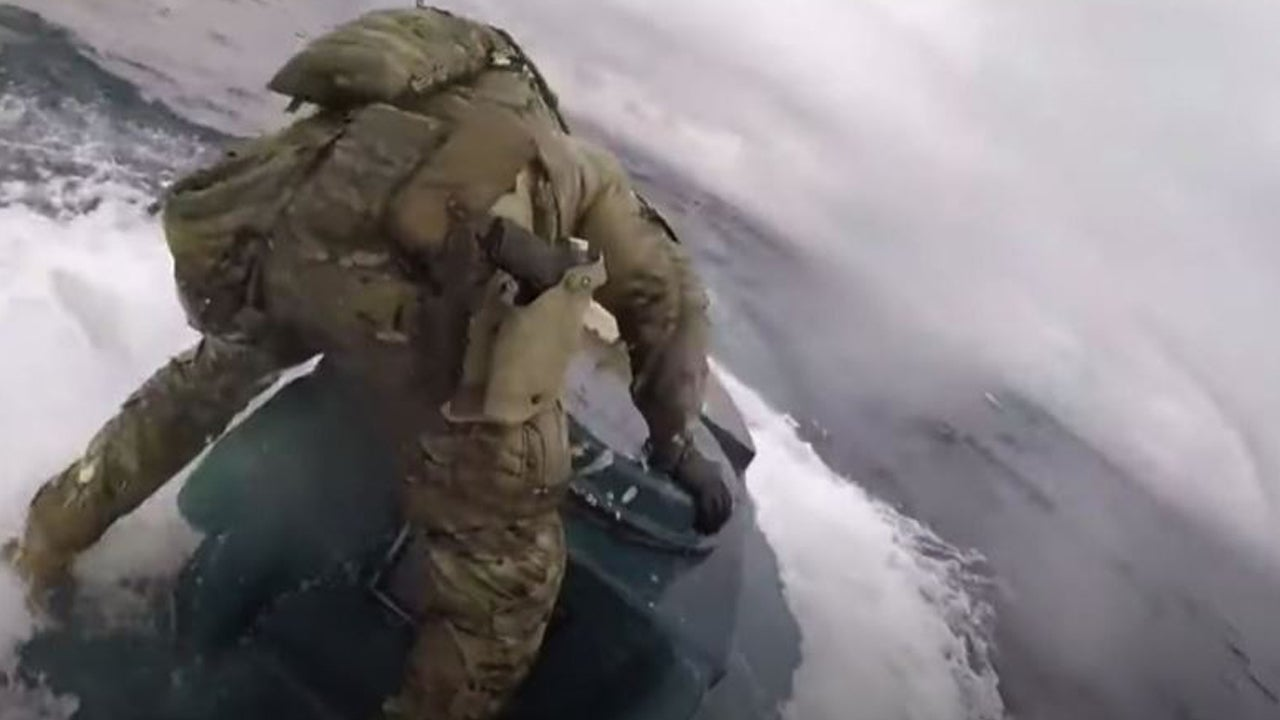 Coast Guard Storms Narco Submarine Carrying Thousands of Pounds of