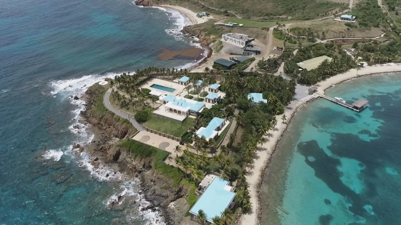 What Inside Edition's Lisa Guerrero Discovered on Jeffrey Epstein's Private Island