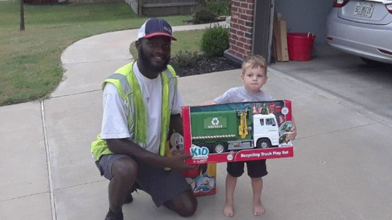 Oklahoma Boy Who Made Friends With His Local Sanitation