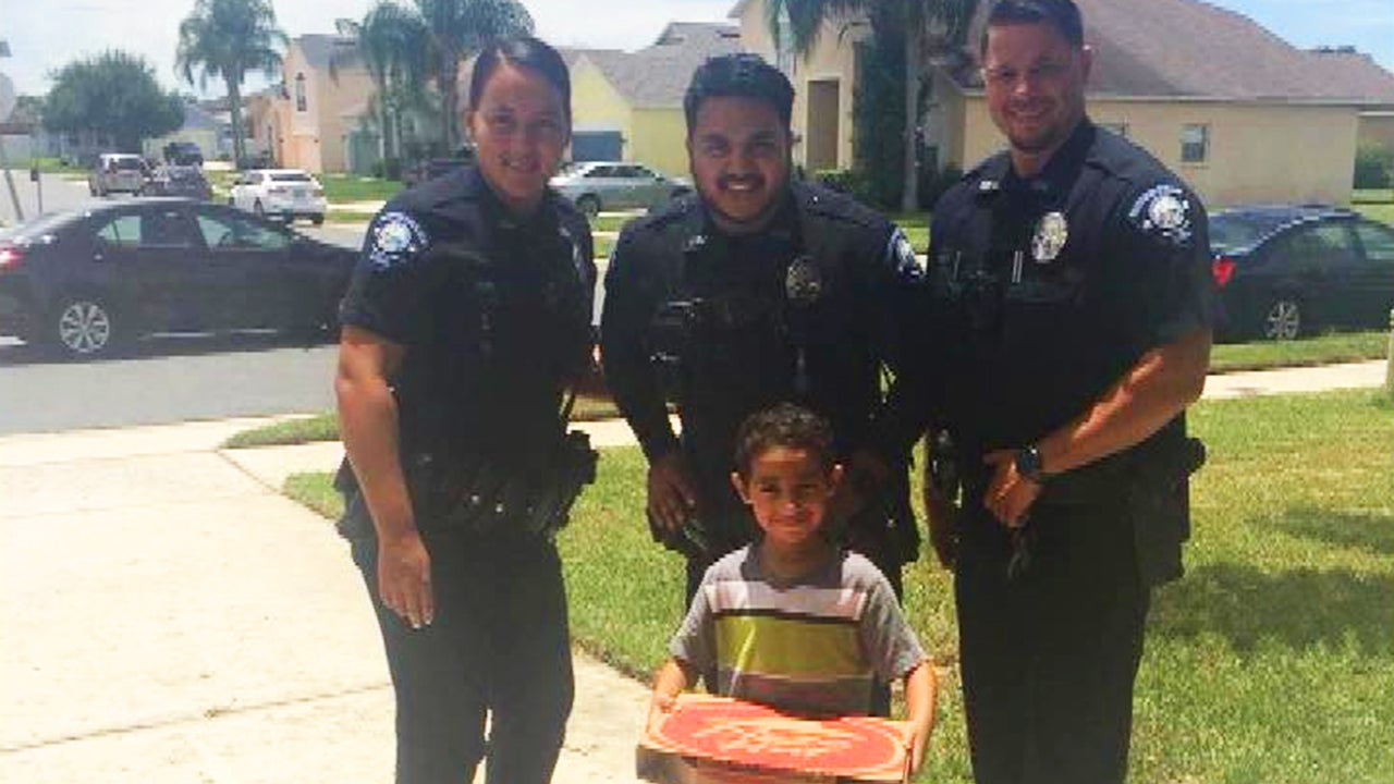 5-Year-Old Florida Boy Calls 911 for Pizza