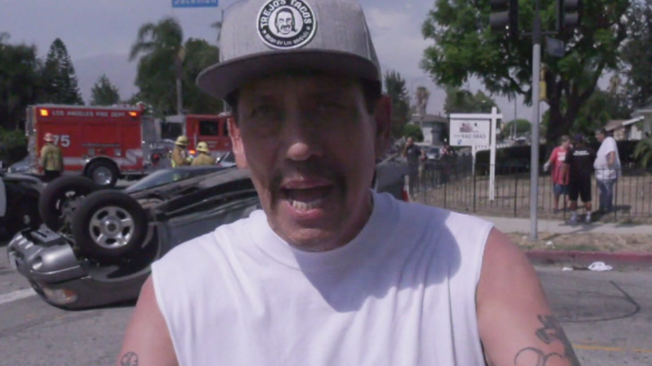 Today on Inside Edition: How Danny Trejo Pulled a Little Boy From a Car's Mangled Wreckage