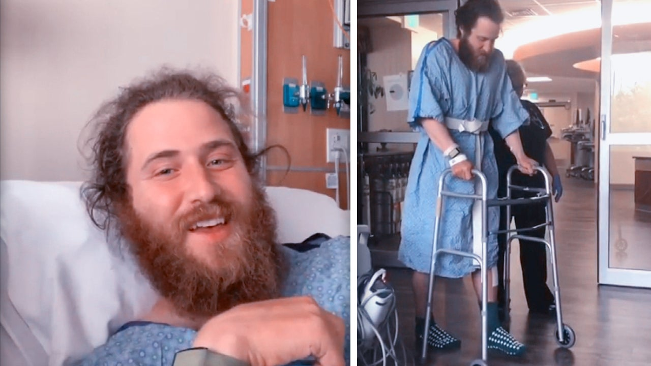 Mike Posner Learning to Walk Again After Rattlesnake Bite