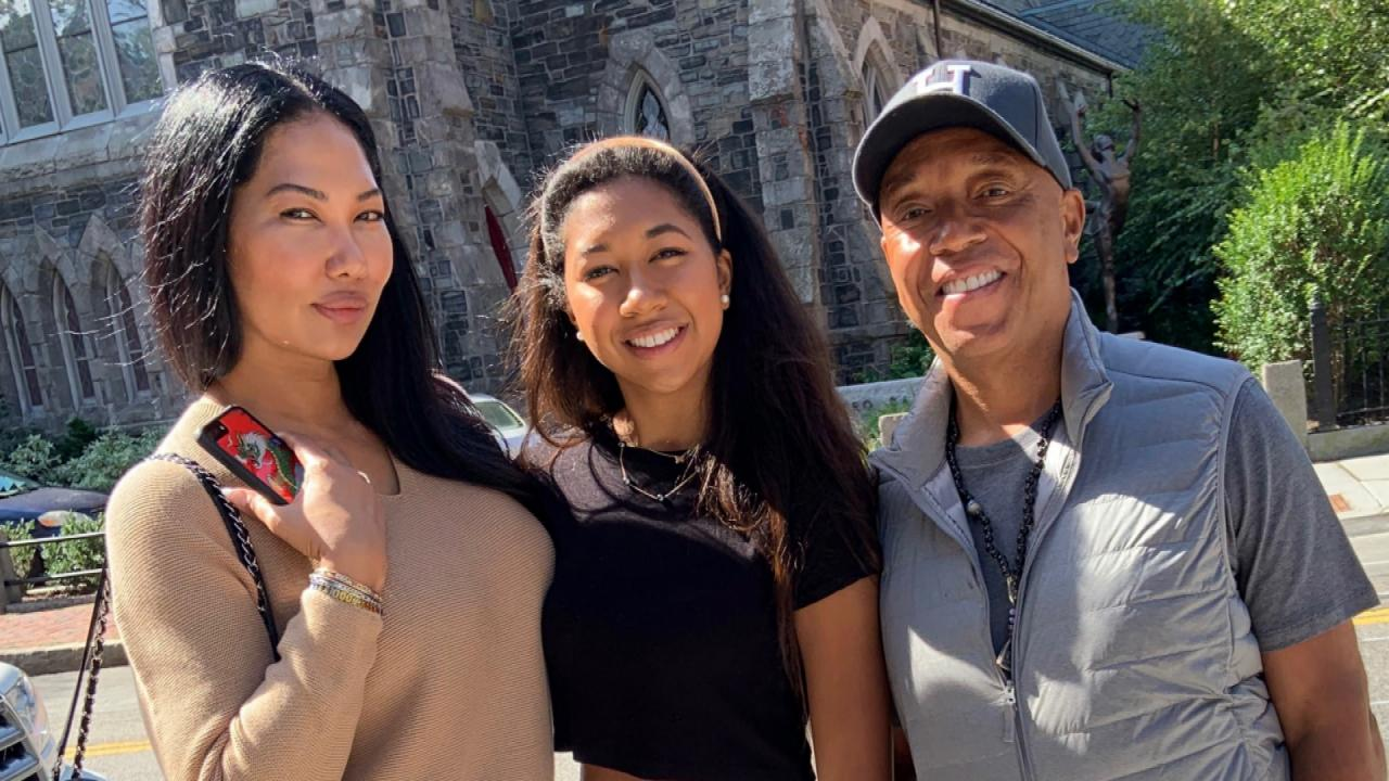 How Russell Simmons and Kimora Lee Simmons Helped Move Daughter Into Harvard Dorm