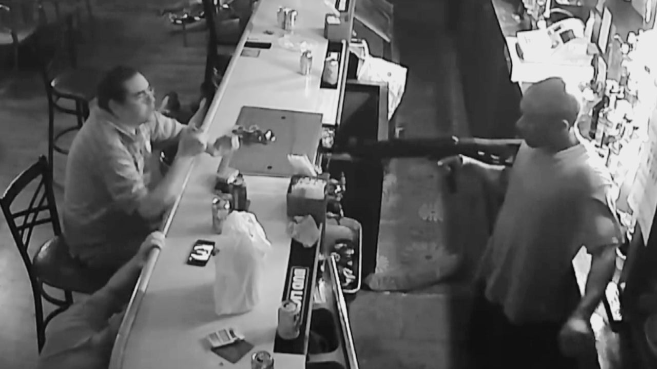 'World's Chillest Man' Sips Beer as Perp With Assault Rifle Robs Missouri Bar