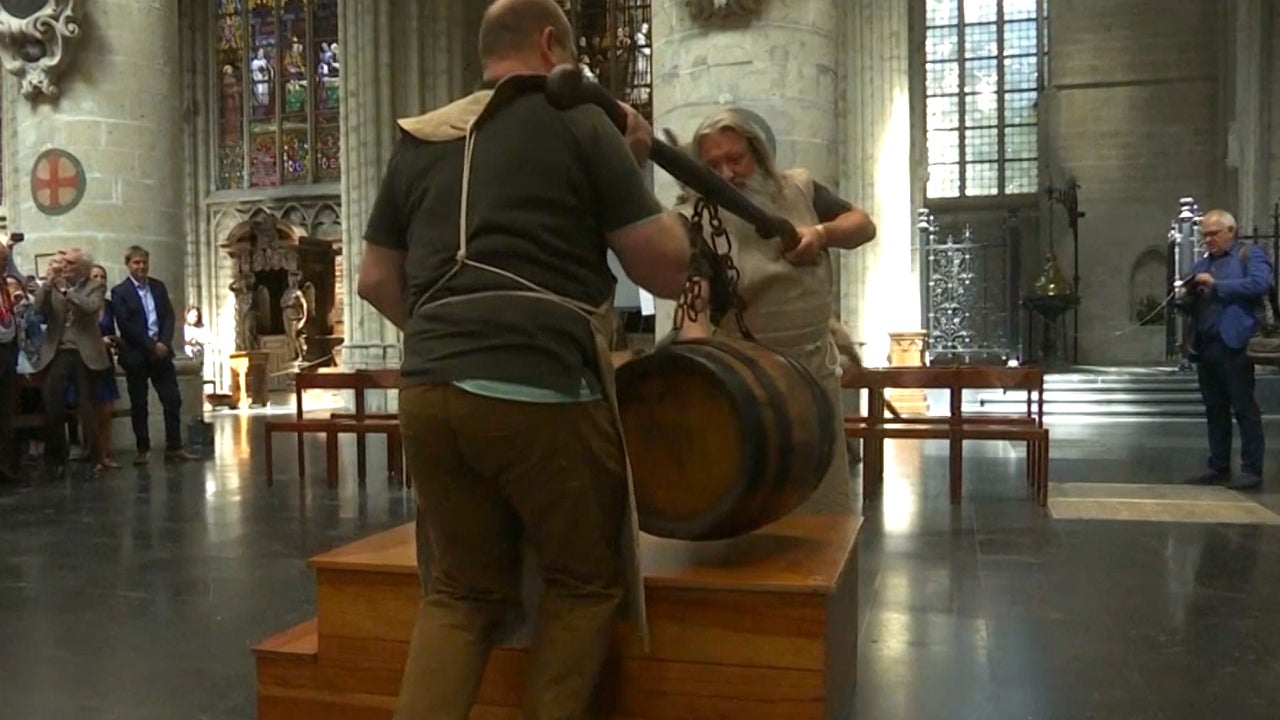 Why This Giant Barrel of Beer Is Being Blessed