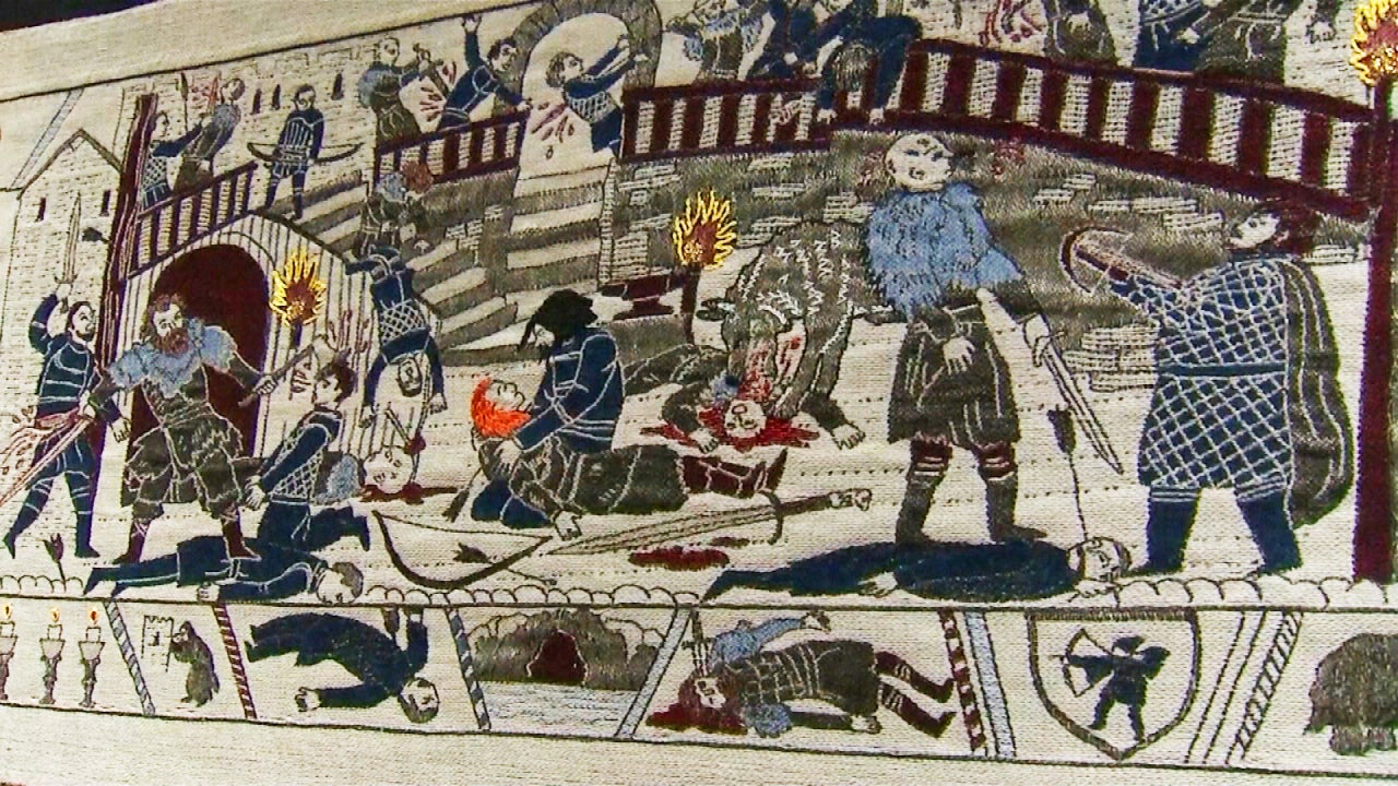 285-Foot-Long 'Game of Thrones' Tapestry Depicts Key Scenes From the Show