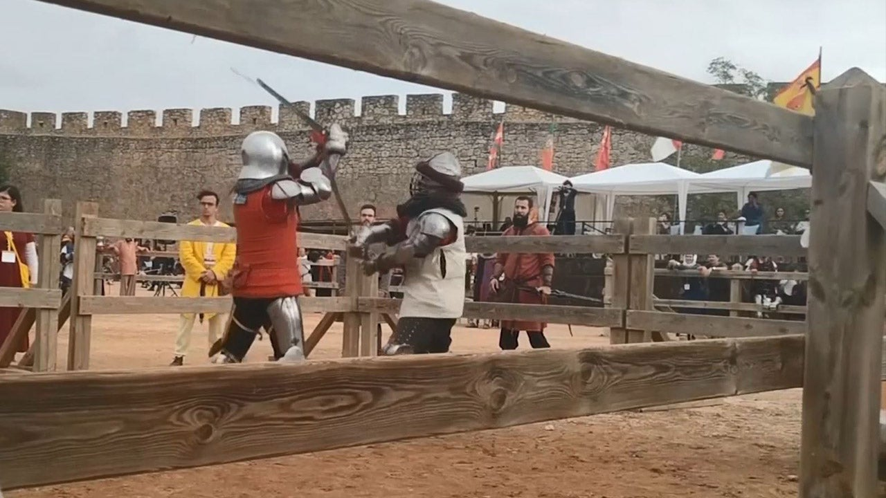Knights in Shining Armor Take Over Spain in Medieval Combat Tournament