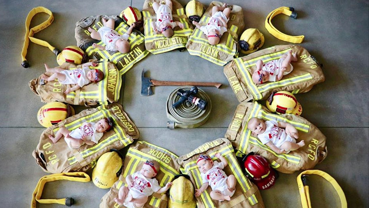 9 Babies Born in 5 Months to California Firefighters