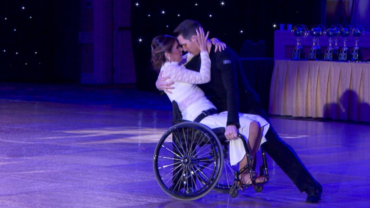 Woman Paralyzed As A Teen Ballroom Dances In Wheelchair