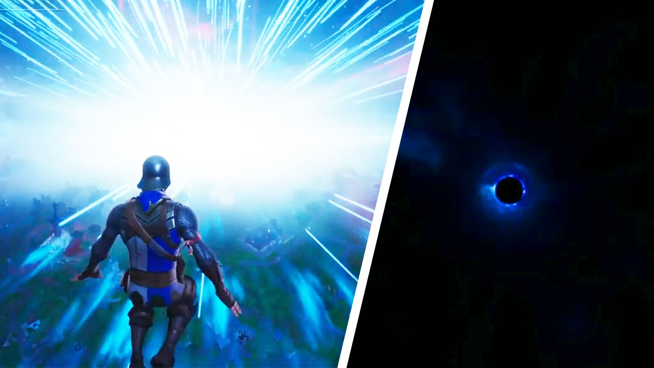 Fortnite Fans Can't Wait for Game to Come Out of Black Hole