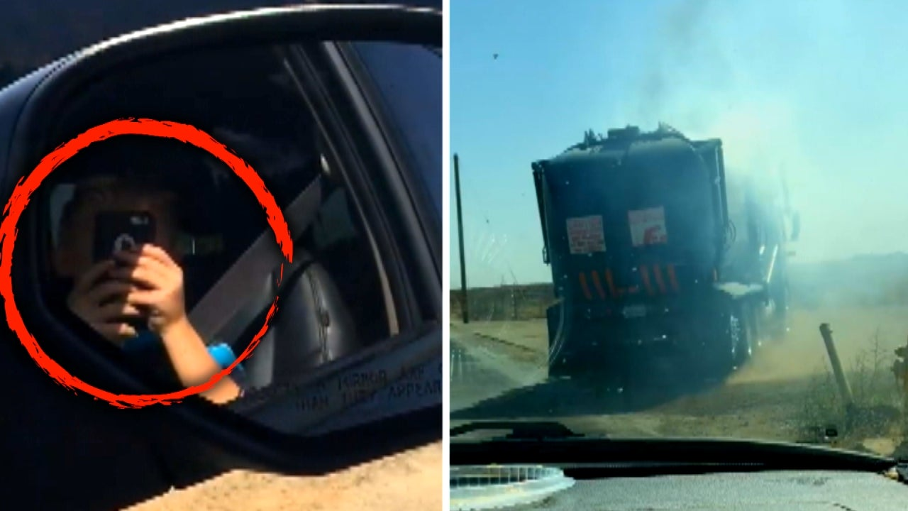 This 8-Year-Old Recorded Video of Smoldering Garbage Truck in California