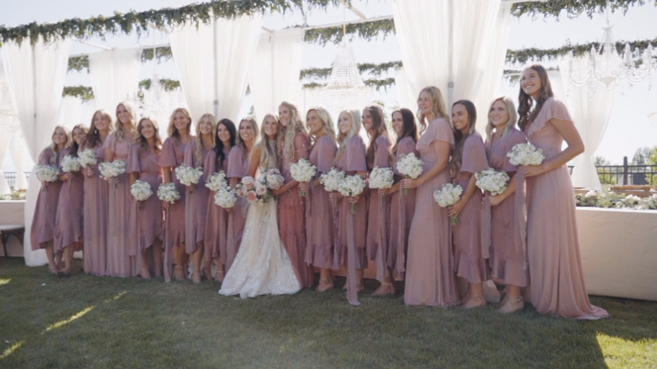 This Woman's Wedding of Her Dreams Included 20 Bridesmaids