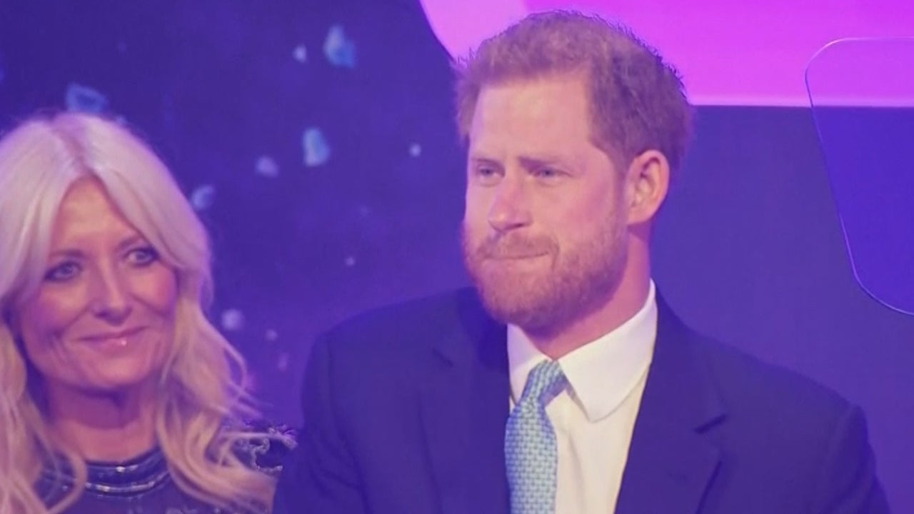 Prince Harry Tears Up Talking About His Son Archie