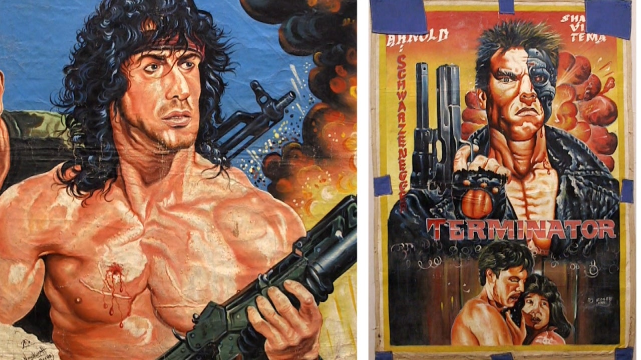 Hand-Painted Film Posters From Ghana 'a Delight for the Eye' in New York Exhibit