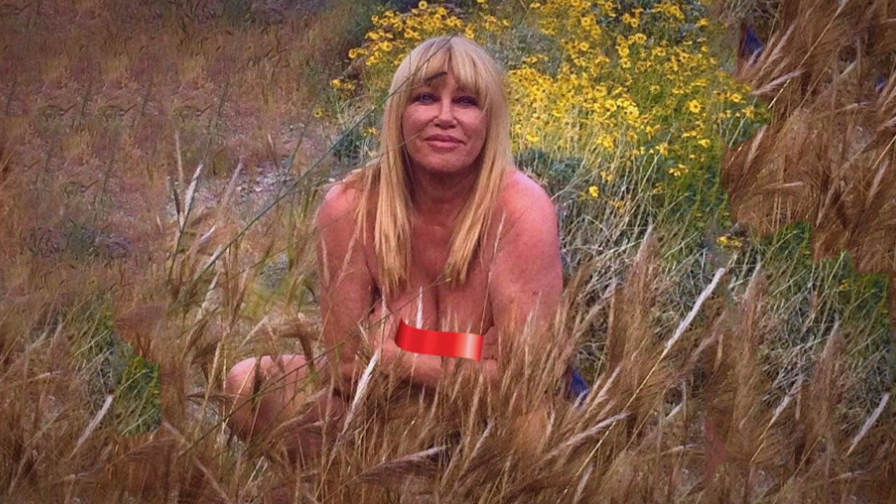 What Suzanne Somers Thought as She Posed Naked at 73