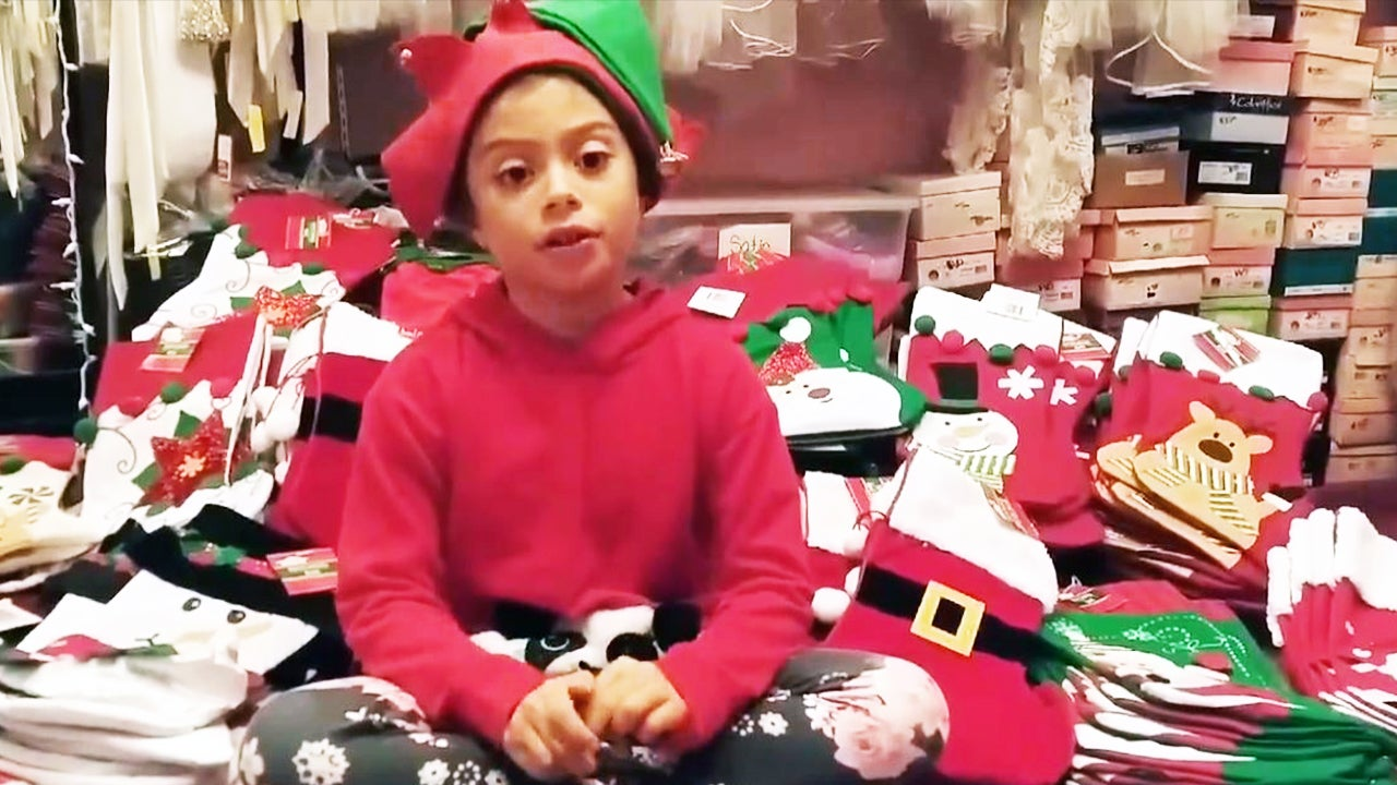 10-Year-Old Aims to Send 10K Care Packages in Christmas Stockings to Military Deployed for the Holidays
