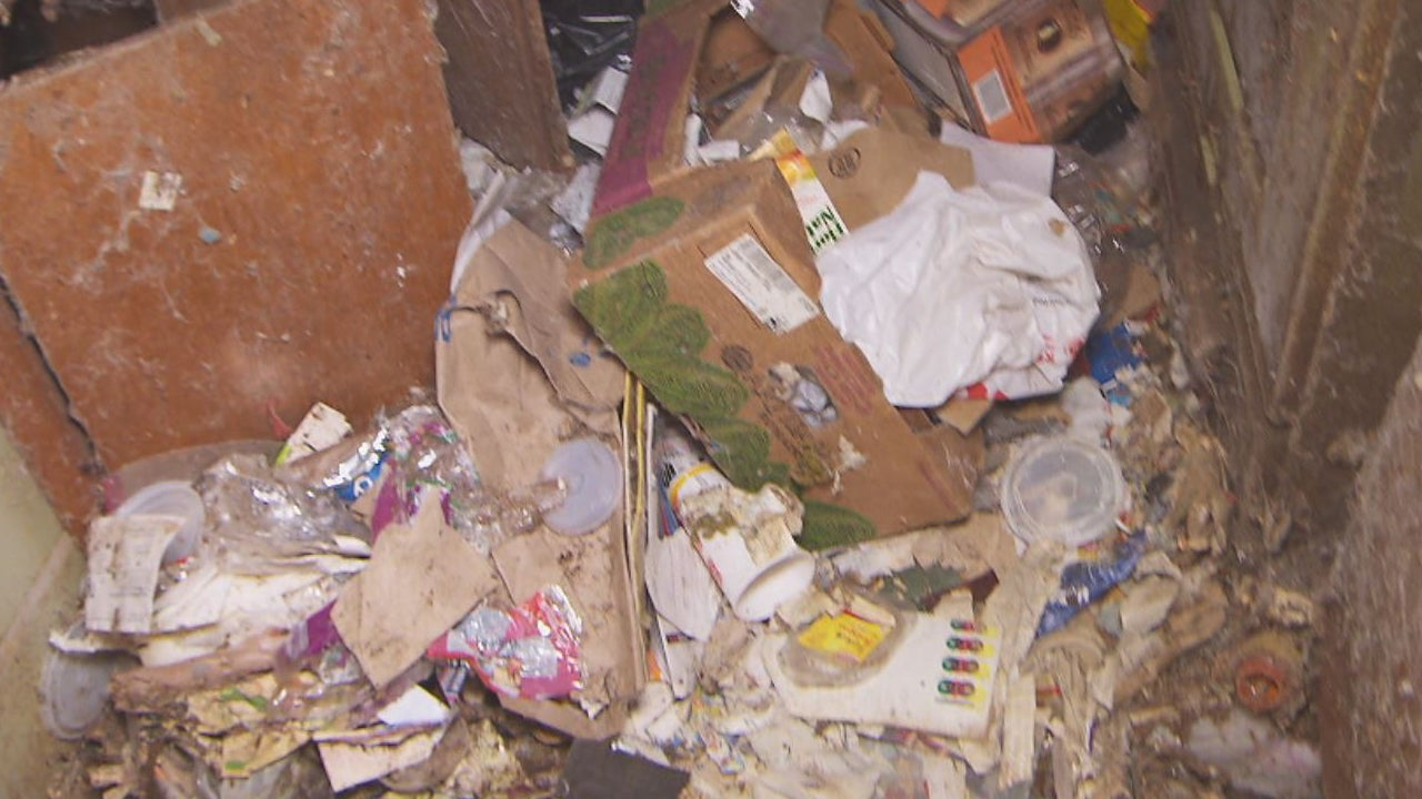 Syringes, Roaches, Spiders: Inside the Home of an Extreme Hoarder