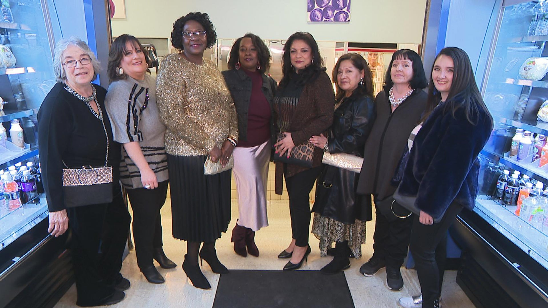 New Jersey High School Lunch Ladies Get Surprise Makeovers