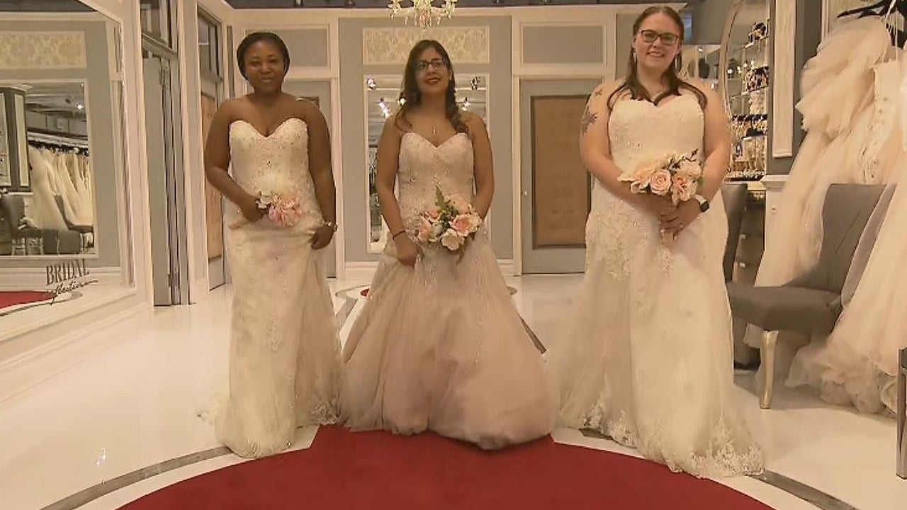 Engaged Servicewomen Get Wedding Dresses of Their Dreams for Veterans Day in New York City