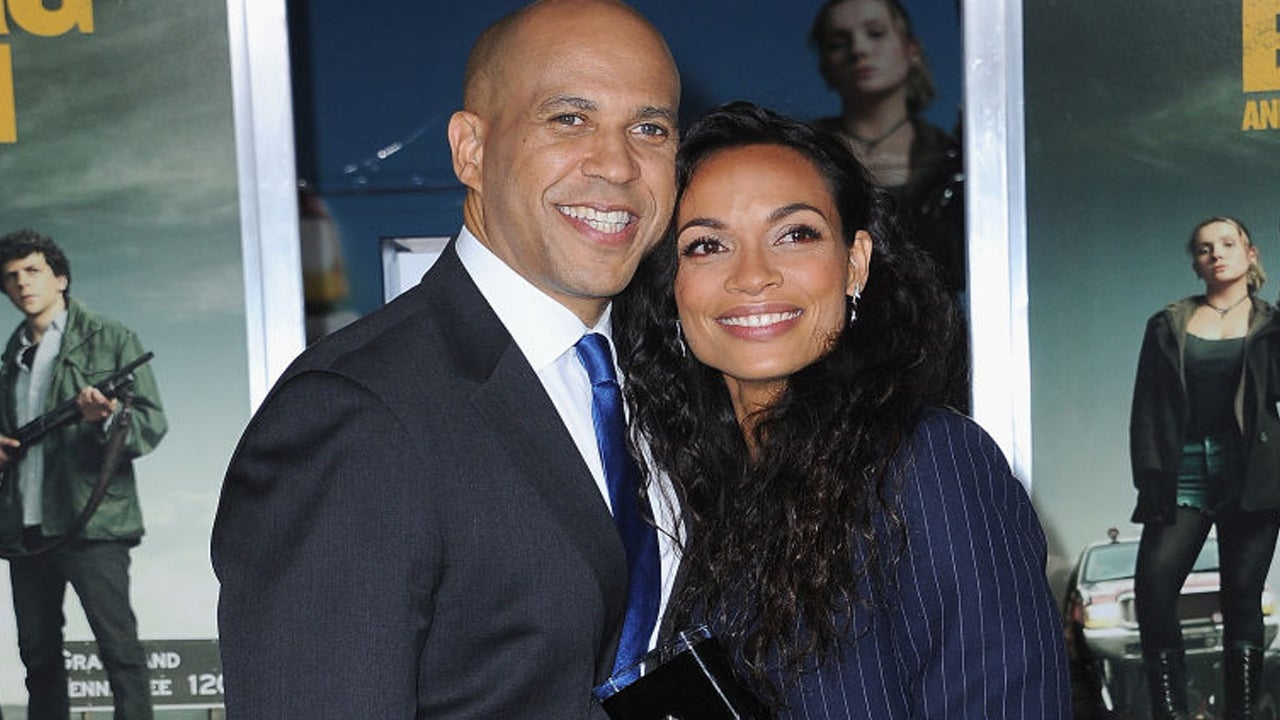 Cory Booker Dishes to Wendy Williams on How He Got Rosario Dawson's Number