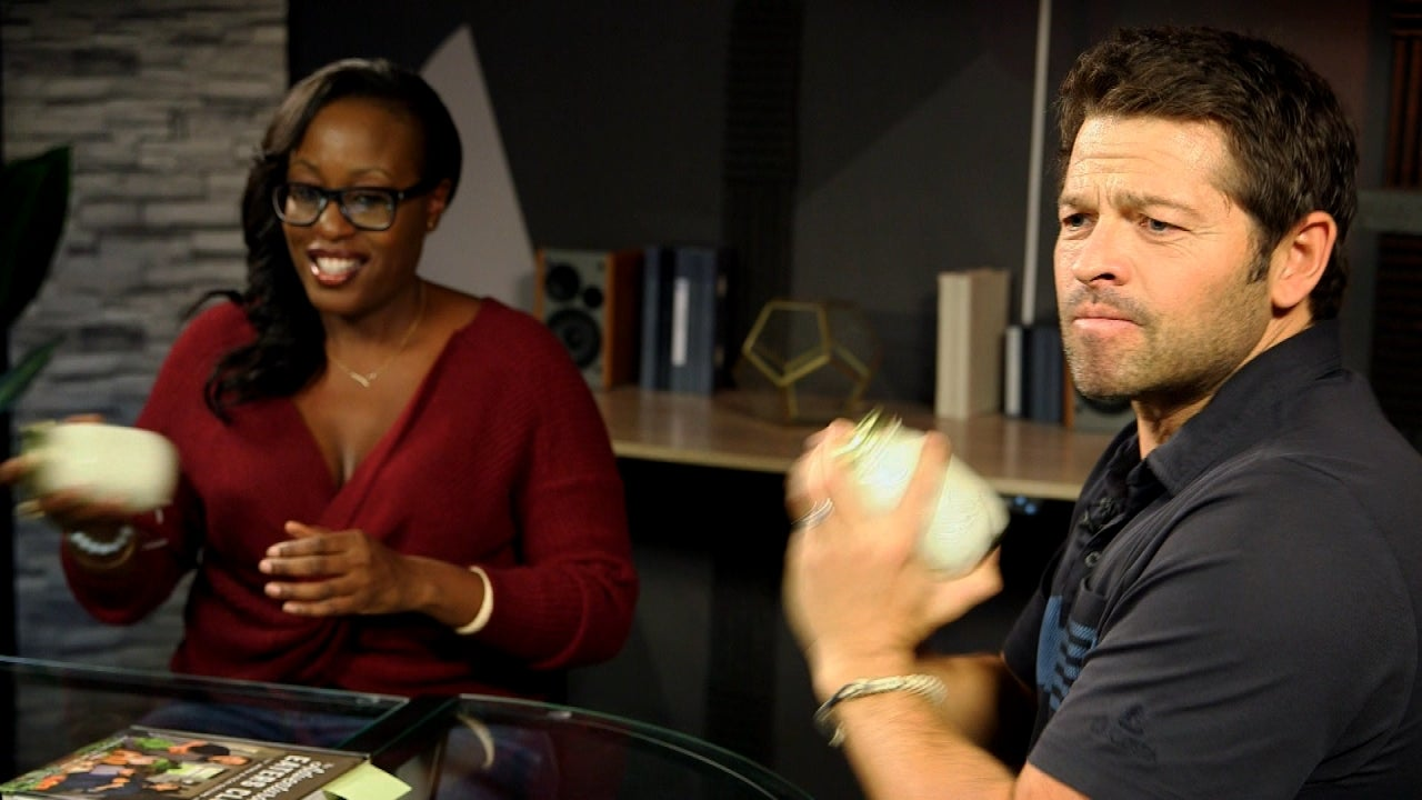 'Supernatural' Star Misha Collins Makes Butter in a Mason Jar