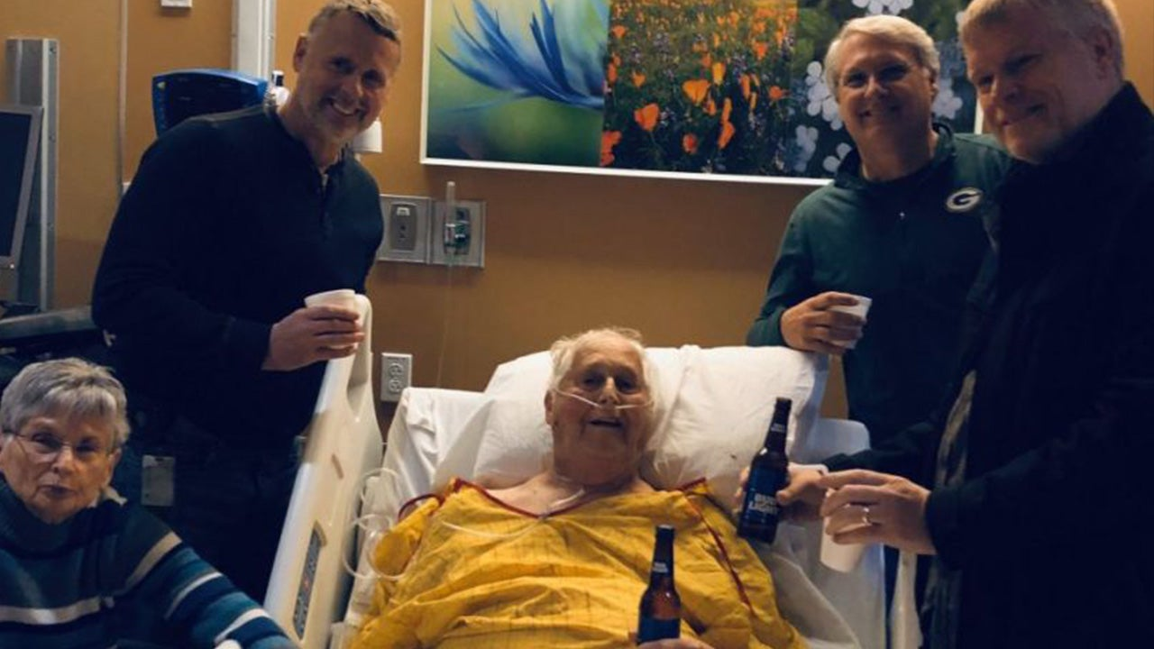 Man Fulfills Dying Wish to Have a Beer With His 3 Sons