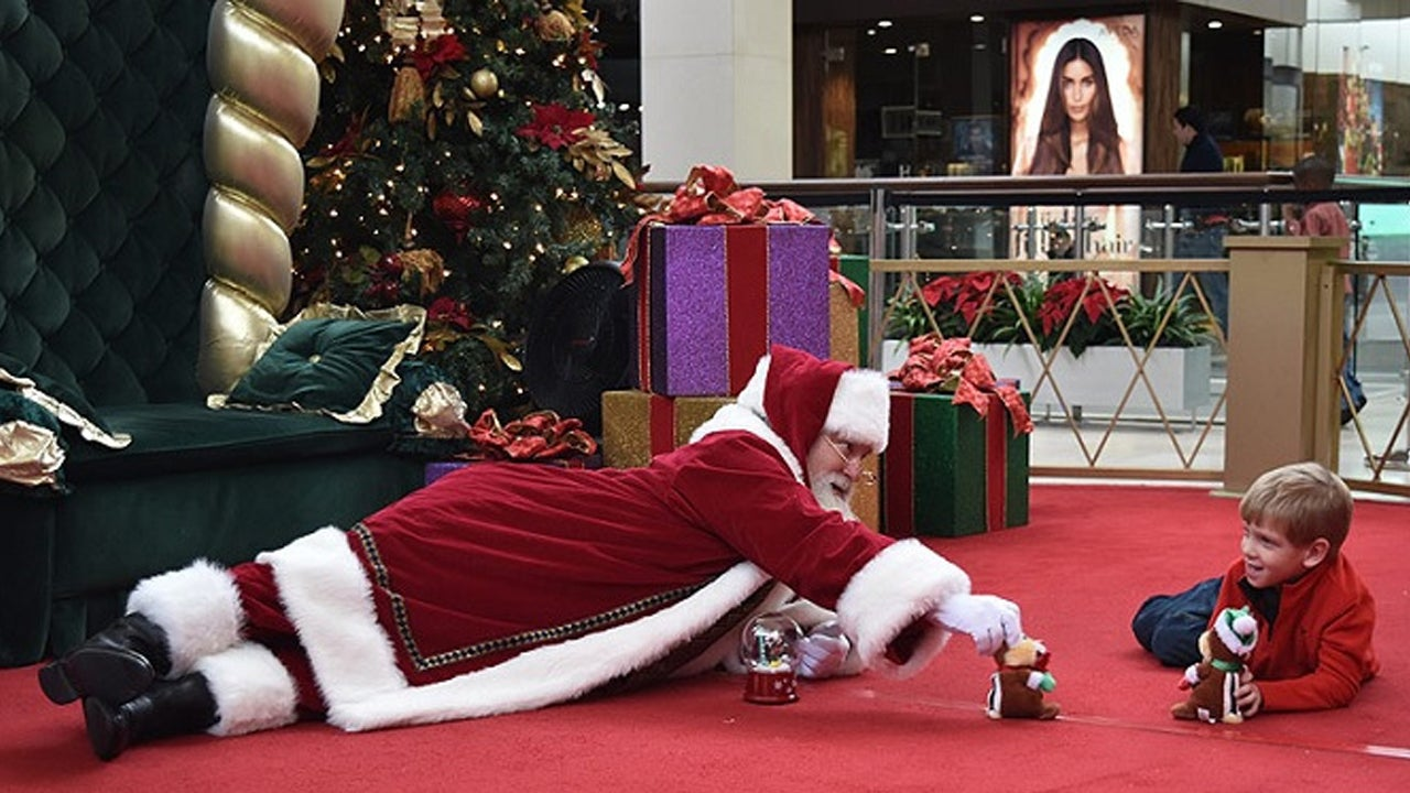 Children With Autism Get Special Visits With Santa at Malls Across America