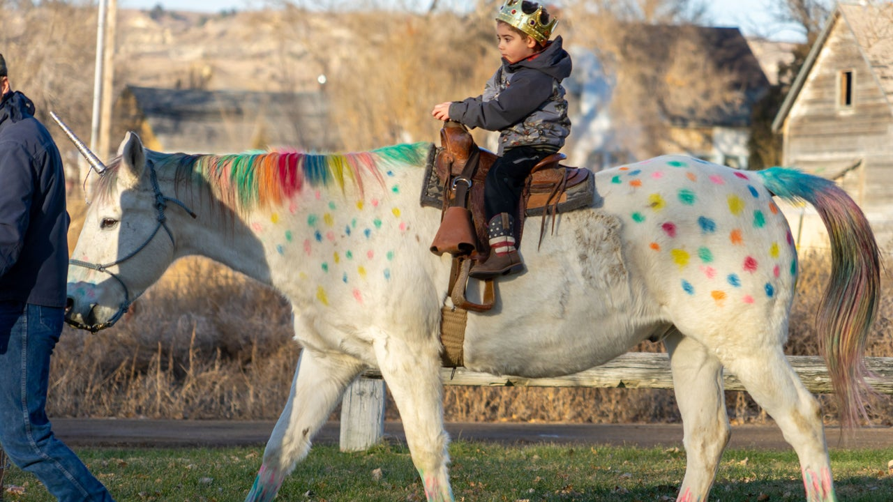 5-Year-Old Boy Battling Cancer Rides Unicorn Before Going for Treatment