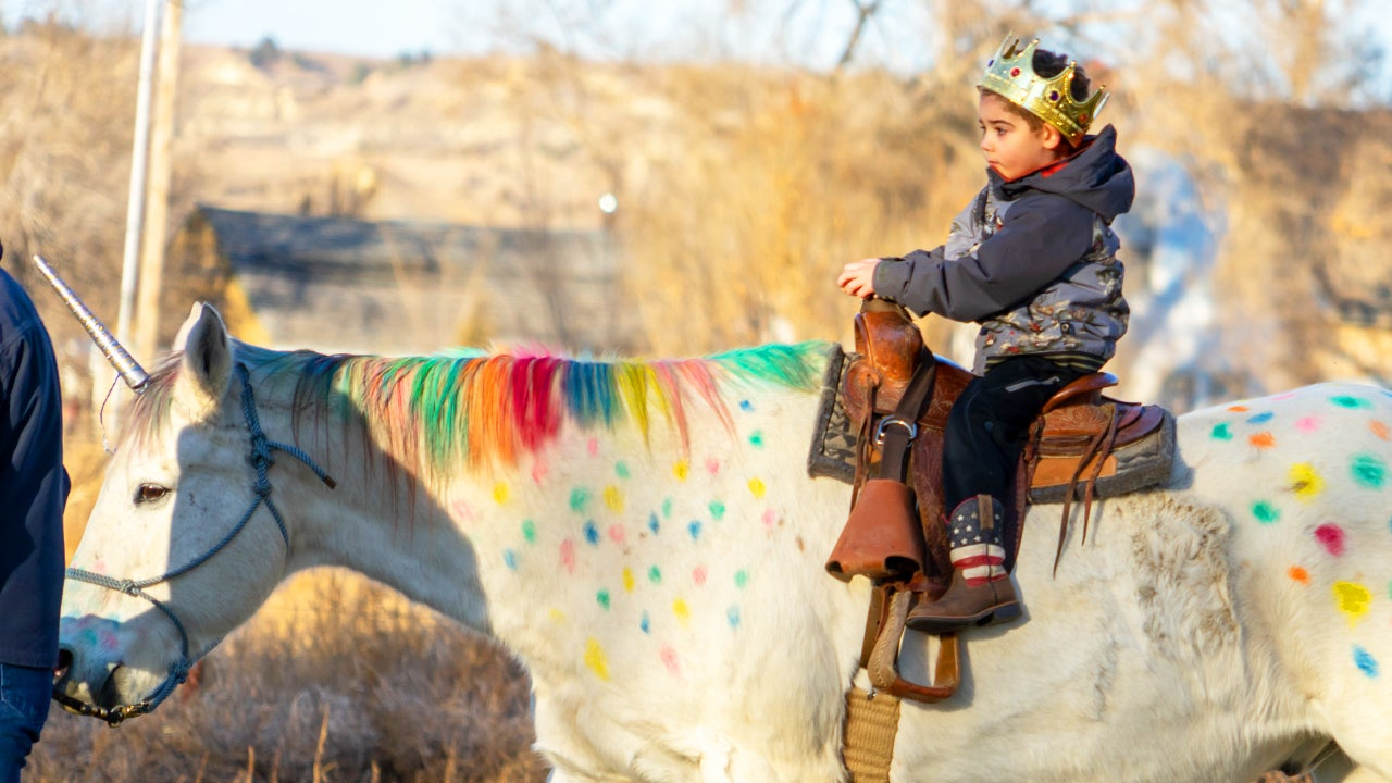 5-Year-Old Boy Battling Brain Cancer Saddles Up on His Very Own 'Unicorn'