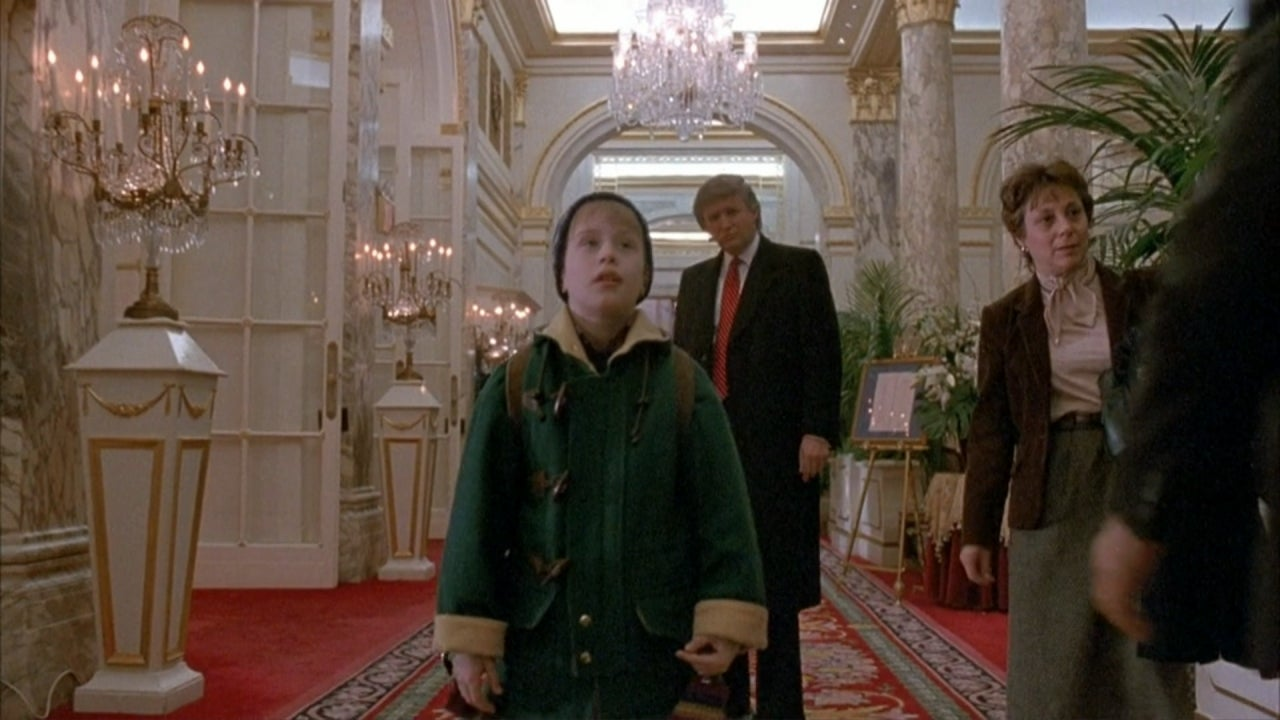 President Trump Reacts to Being Cut From 'Home Alone 2' in ...