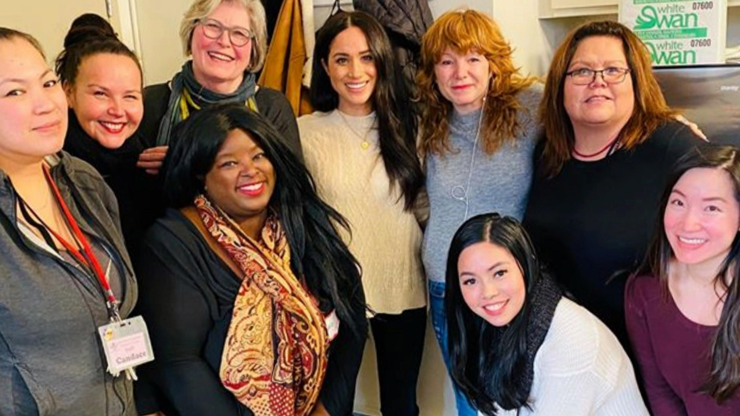 Meghan Markle Visits 'Justice for Girls' Charity for Teens in Canada