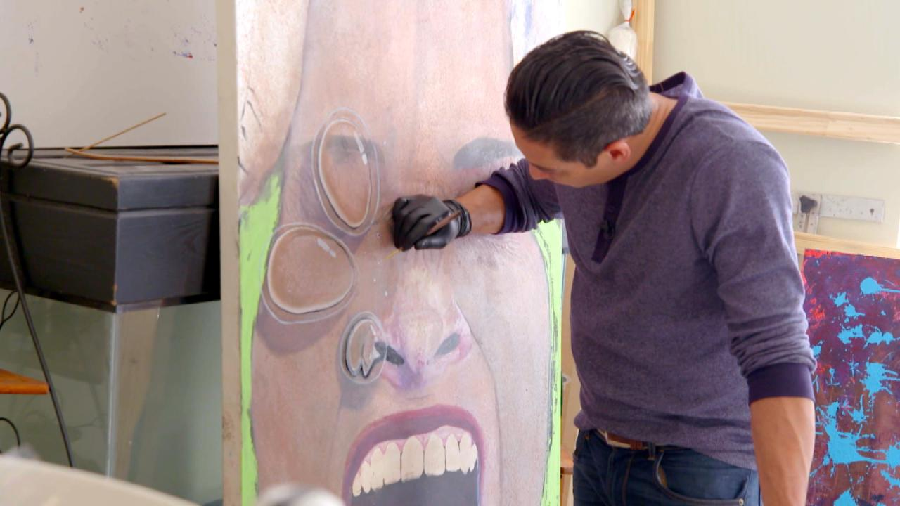 How This Man's Traumatic Brain Injury Made Him a Master Painter