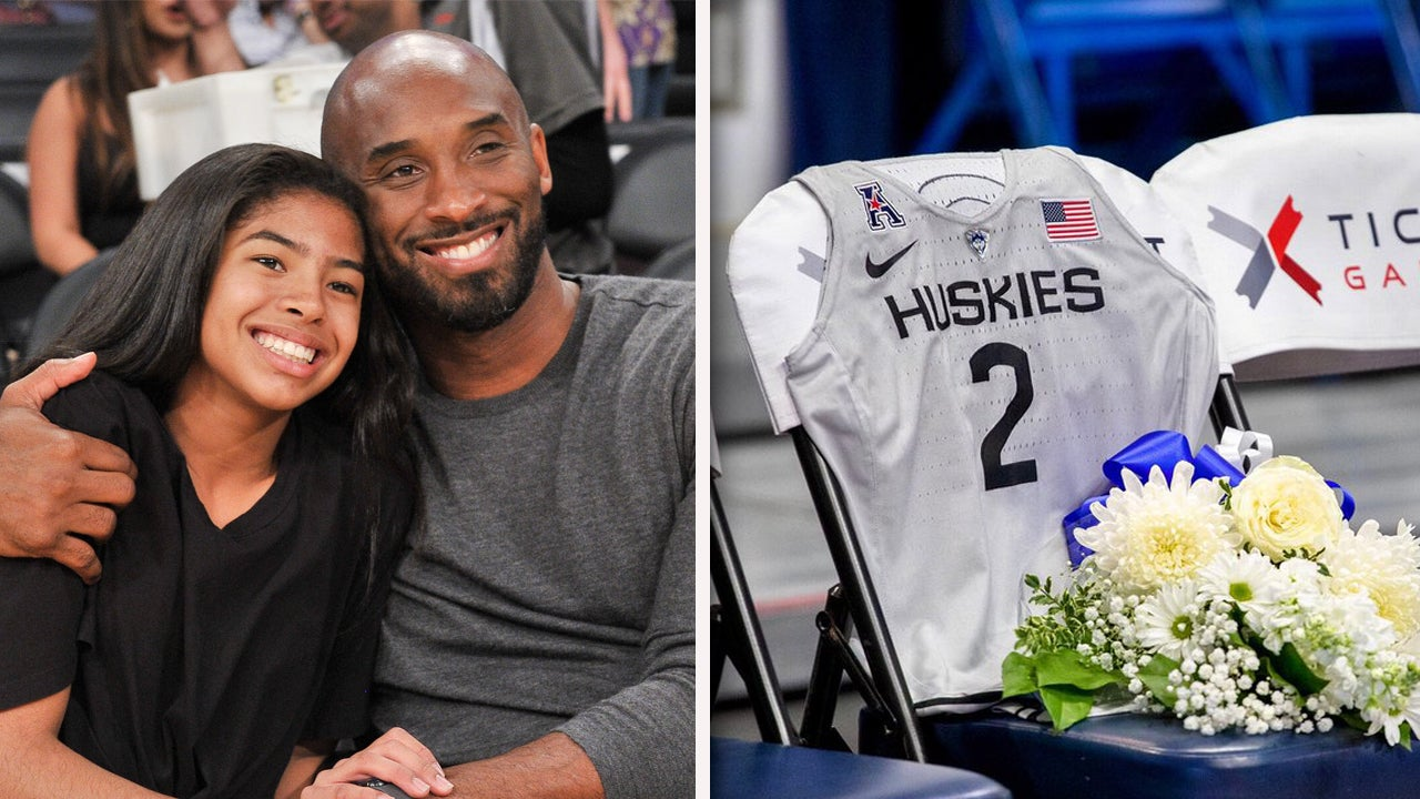 Gianna Bryant Honored by UConn Women's Basketball Team With Special Jersey