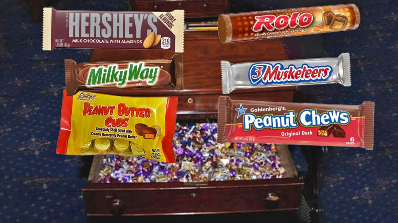 Secret Candy Stash Helps Lawmakers Stay Focused During Impeachment Trial