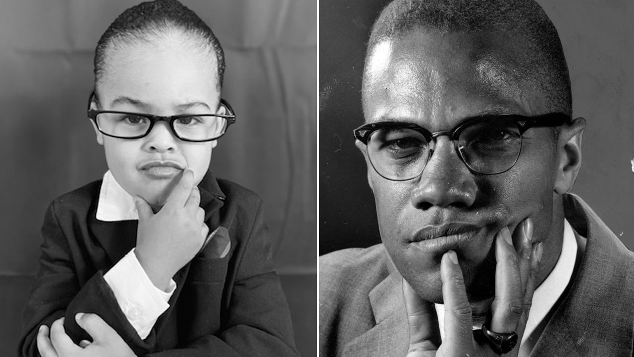 Black History Month: 2-Year-Old Dresses up as African-American Icons