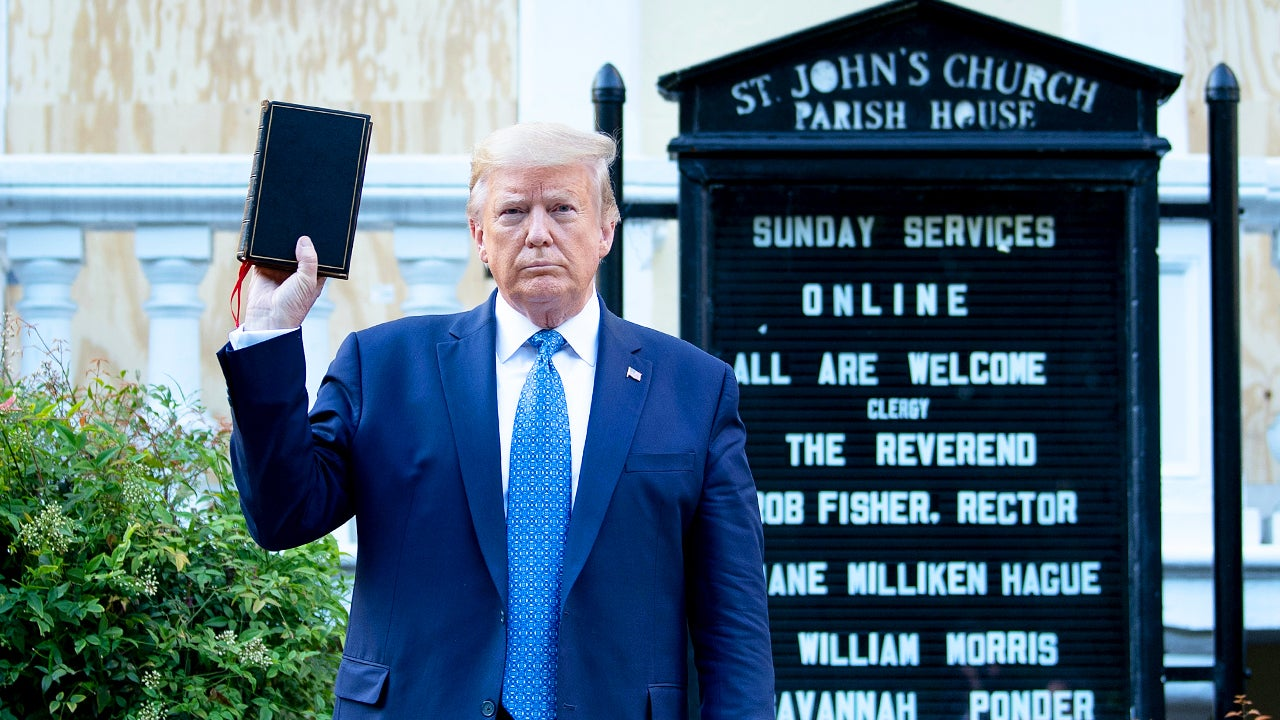 Senior Military Adviser Resigns Over Trump's Church Photo-Op