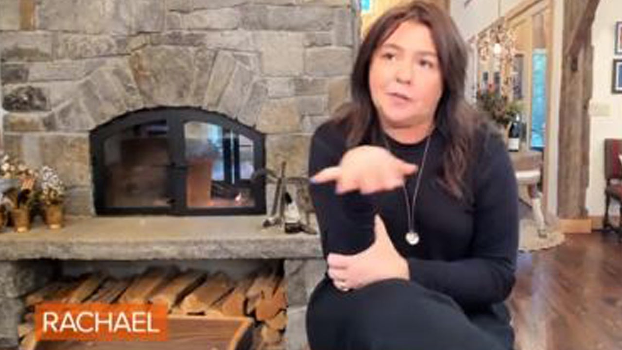Rachael Ray Shows the Ruins of Her House Destroyed by Fire ...Rachael Ray House Fire Today