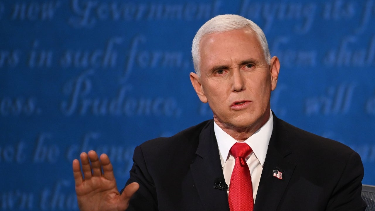 Mike Pence's Bloodshot Eye at Debate Prompts Concern From ...