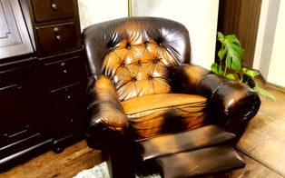 Woman Buys 'Haunted' Armchair With Ghostly Outline on the Seat