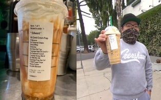 Starbucks Barista Fired for Posting 13-Ingredient Drink on Social Media Meets Man Who Ordered It
