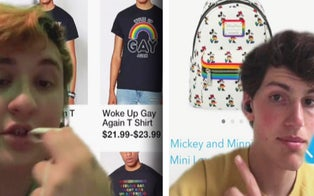 TikTok's Latest Trend Is Roasting Pride Collections, but Queer Creators Say the Problem Goes Much Deeper