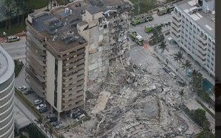 1 Dead, 99 Unaccounted for in Partial Building Collapse Near Miami