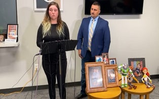Samuel Olson's Mother Speaks Out for 1st Time, Saying She Believes Father Involved in Boy's Death