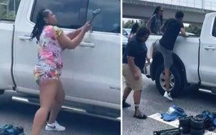 Driver Having Medical Emergency on Georgia Highway Saved After Good Samaritans Smash Window
