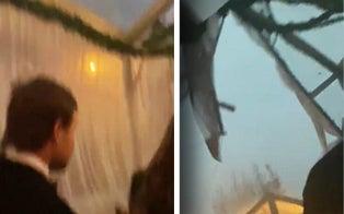 Video Shows Pandemonium as Storm Knocks Down Tent, Injuring Guests at Atlanta Wedding
