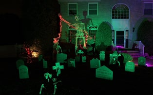 Inside the Craze for 'Skelly,' a 12-Foot Halloween Skeleton From Home Depot That's a Graveyard Smash