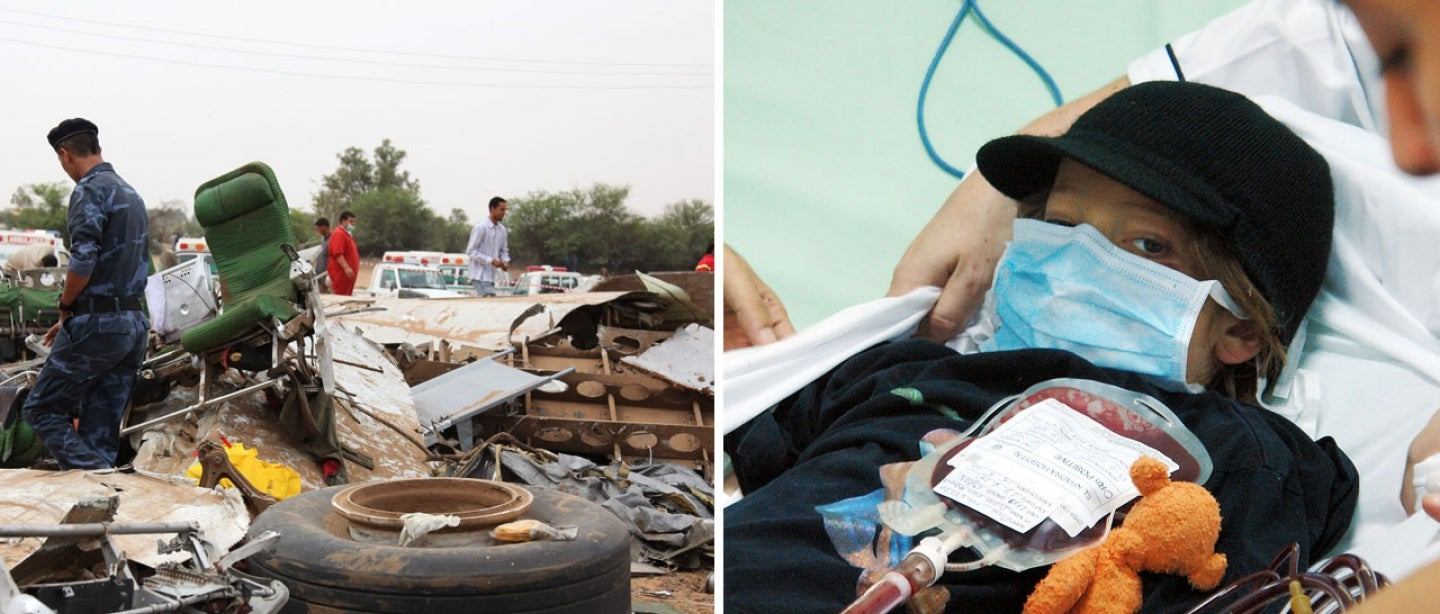 Ruben van Assouw is one of a handful of people who have alone survived major plane crashes.