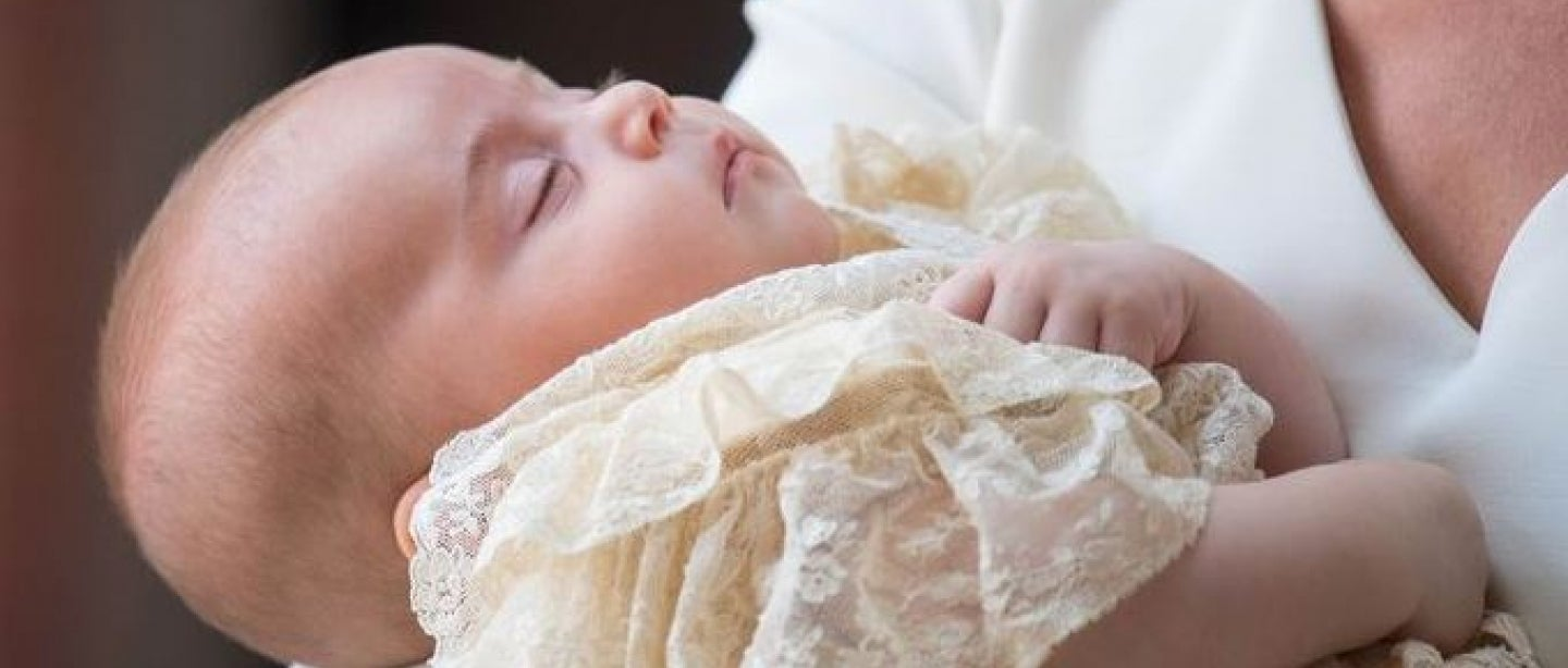 Prince Louis was christened on July 9, 2018