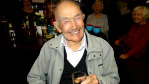 100-Year-Old WWII Veteran Still Goes to the Bar Every Day