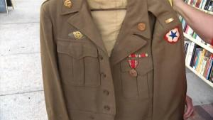 Stranger Returns WWII Jacket Found In Her Closet To Widow Of Army Veteran